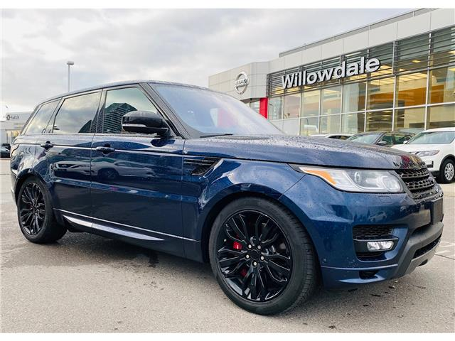2017 Land Rover Range Rover Sport HSE DYNAMIC (Stk: H9322C) in Thornhill - Image 1 of 22