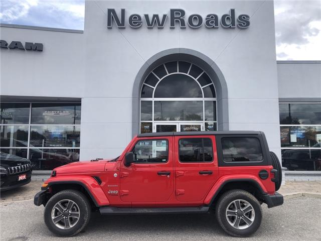 2020 Jeep Wrangler Unlimited Sahara (Stk: 25062P) in Newmarket - Image 1 of 2