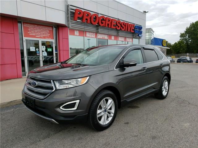 2017 Ford Edge SEL (Stk: HBB70087) in Sarnia - Image 1 of 23