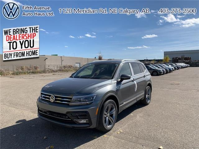 2020 Volkswagen Tiguan Highline (Stk: 20170) in Calgary - Image 1 of 30