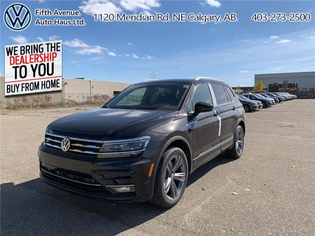 2020 Volkswagen Tiguan Highline (Stk: 20183) in Calgary - Image 1 of 30