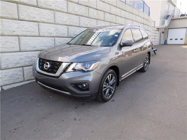 2018 Nissan Pathfinder Platinum (Stk: D00846A) in Fredericton - Image 1 of 20