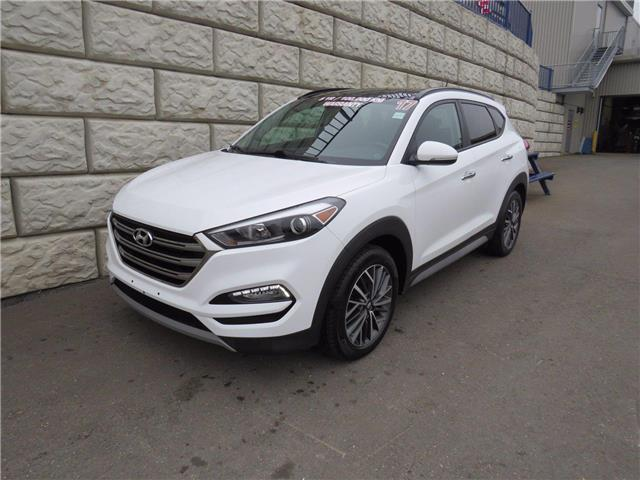 2017 Hyundai Tucson SE (Stk: D00883A) in Fredericton - Image 1 of 18