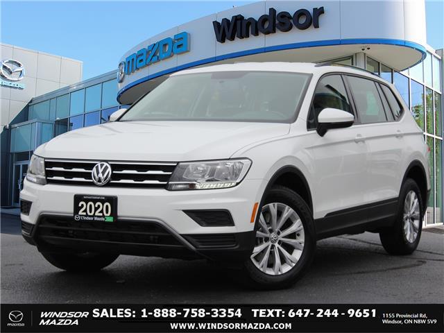 2020 Volkswagen Tiguan Trendline (Stk: PR3636) in Windsor - Image 1 of 24