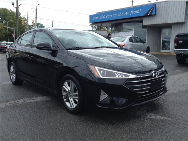 2020 Hyundai Elantra Preferred w/Sun & Safety Package (Stk: 201018) in Kingston - Image 1 of 24