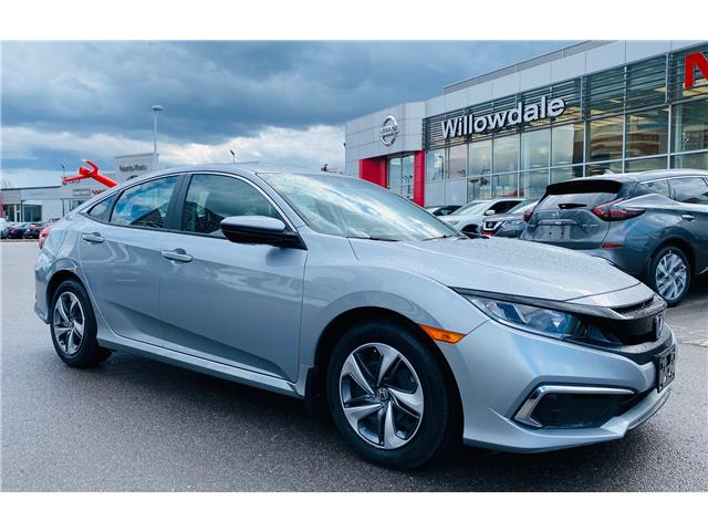 2019 Honda Civic LX (Stk: H8697B) in Thornhill - Image 1 of 20