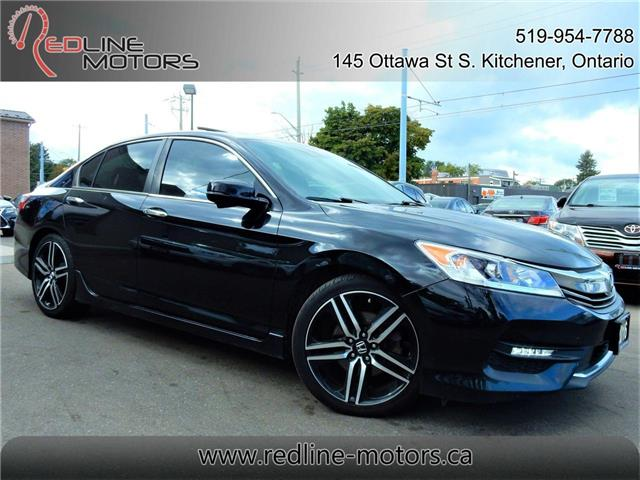 2016 Honda Accord Sport (Stk: 1HGCR2) in Kitchener - Image 1 of 26