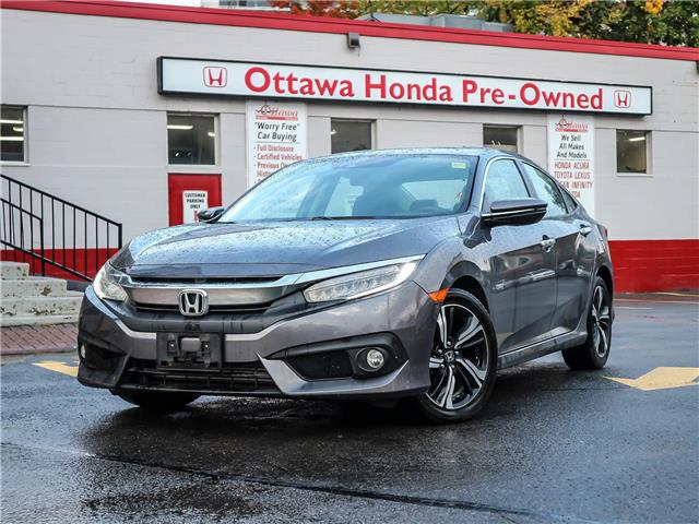 2018 Honda Civic Touring (Stk: H84780) in Ottawa - Image 1 of 28