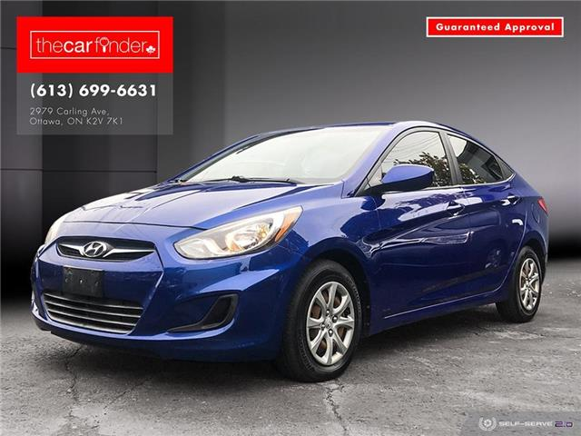 2012 Hyundai Accent GL (Stk: ) in Ottawa - Image 1 of 23
