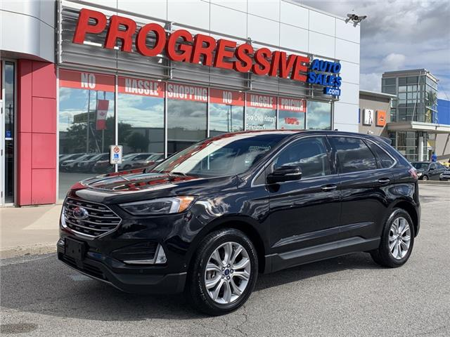 2019 Ford Edge Titanium (Stk: KBB15243) in Sarnia - Image 1 of 26