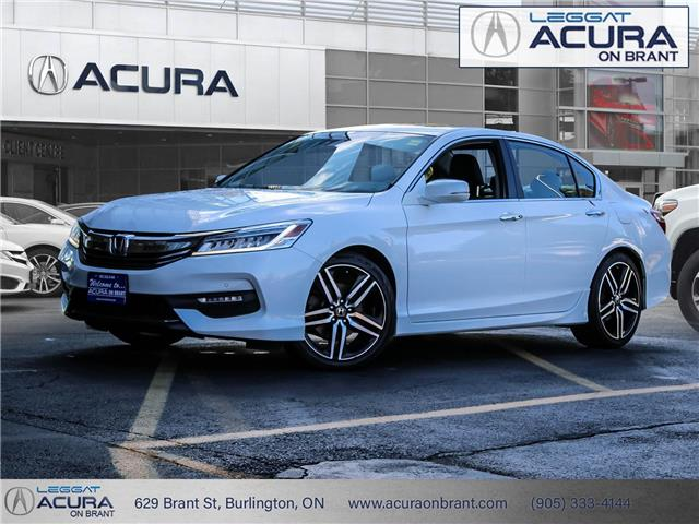 2017 Honda Accord Touring (Stk: 19053A) in Burlington - Image 1 of 22