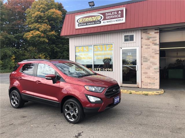 2018 Ford EcoSport SES (Stk: ) in Morrisburg - Image 1 of 7