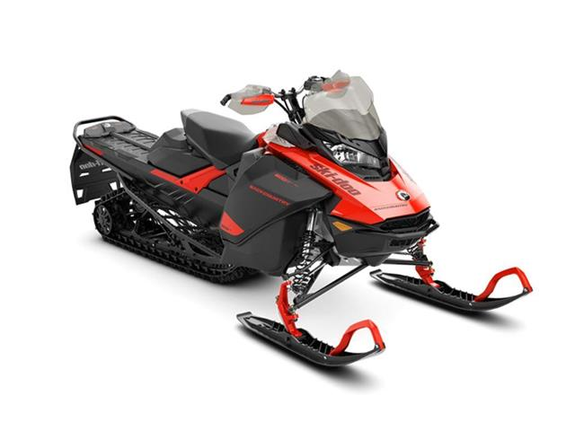 New 2021 Ski-Doo Backcountry™ Rotax® 600R E-TEC® Lava Red and Black   - SASKATOON - FFUN Motorsports Saskatoon