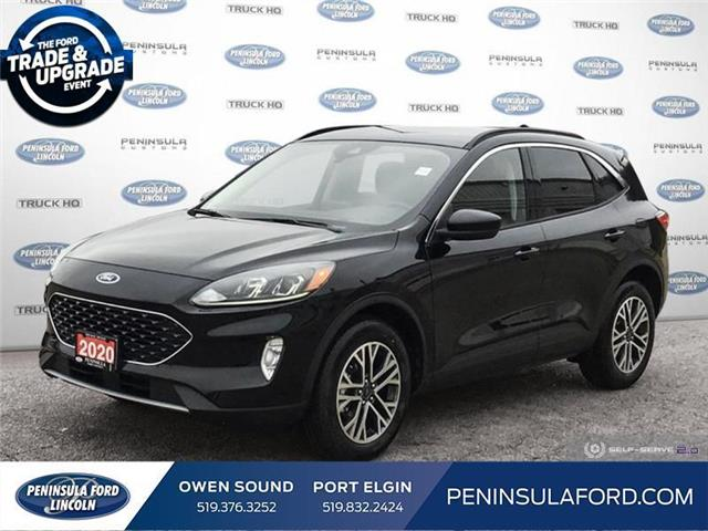 2020 Ford Escape SEL (Stk: 20ES12) in Owen Sound - Image 1 of 25