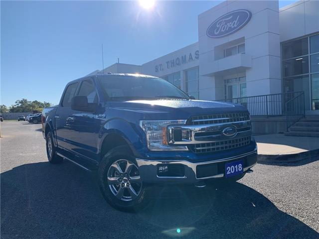 2018 Ford F-150 XLT (Stk: T0551A) in St. Thomas - Image 1 of 25