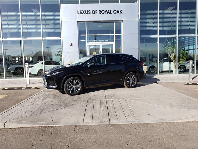 2021 Lexus RX 450h Base (Stk: L21021) in Calgary - Image 1 of 14