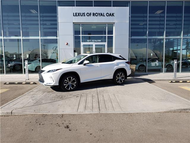 2021 Lexus RX 450h Base (Stk: L21042) in Calgary - Image 1 of 12