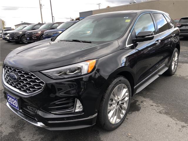2020 Ford Edge Titanium (Stk: 20343) in Cornwall - Image 1 of 12