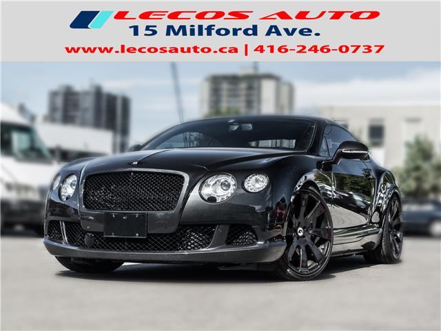 2013 Bentley CONTINENTAL GT SPEED GT SPEED (Stk: 083535) in Toronto - Image 1 of 26