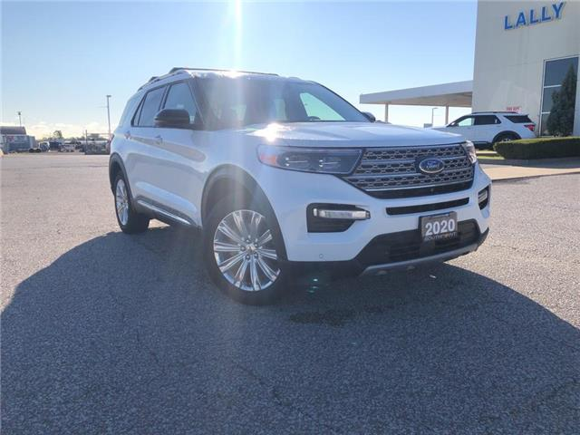 2020 Ford Explorer Limited (Stk: S10545R) in Leamington - Image 1 of 27