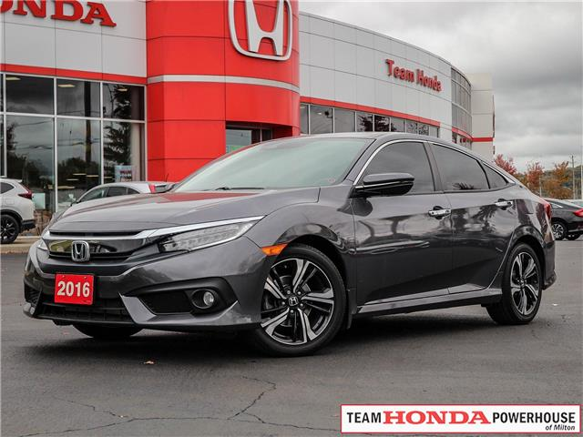 2016 Honda Civic Touring (Stk: 3677) in Milton - Image 1 of 30