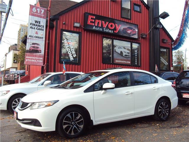 2015 Honda Civic EX (Stk: ) in Ottawa - Image 1 of 30