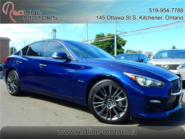 2016 Infiniti Q50  (Stk: JN1FV7) in Kitchener - Image 1 of 27