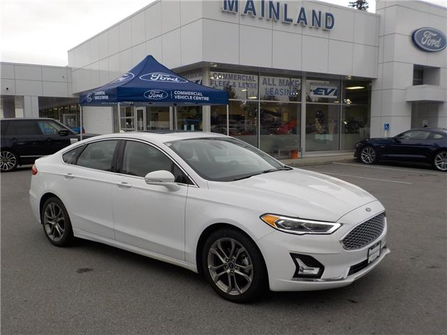 2020 Ford Fusion Hybrid Titanium (Stk: P2749) in Vancouver - Image 1 of 12