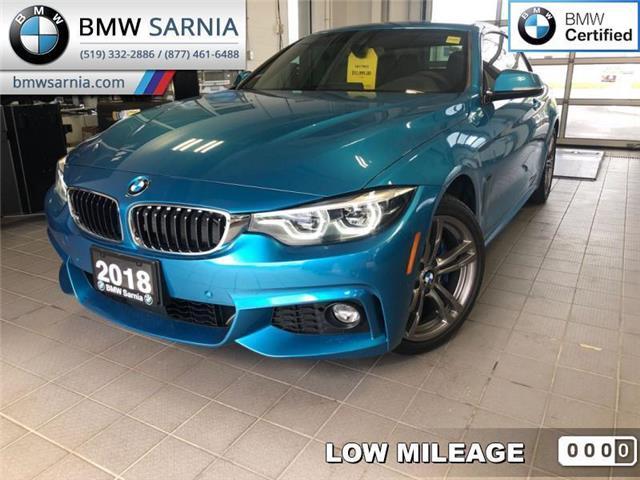 2018 BMW 430i xDrive (Stk: BU771) in Sarnia - Image 1 of 17