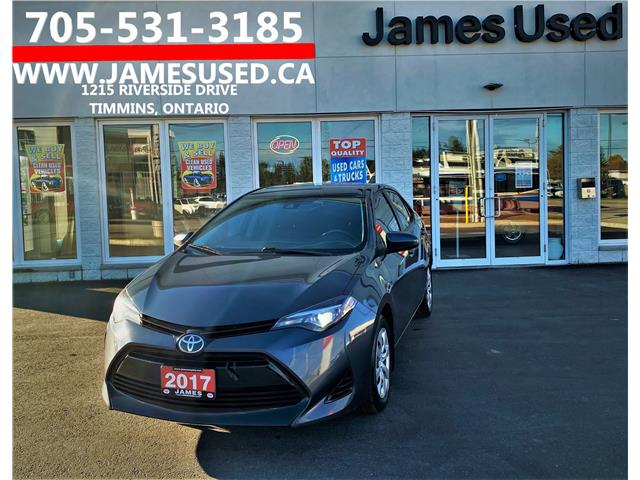 2017 Toyota Corolla LE (Stk: N20469A) in Timmins - Image 1 of 14