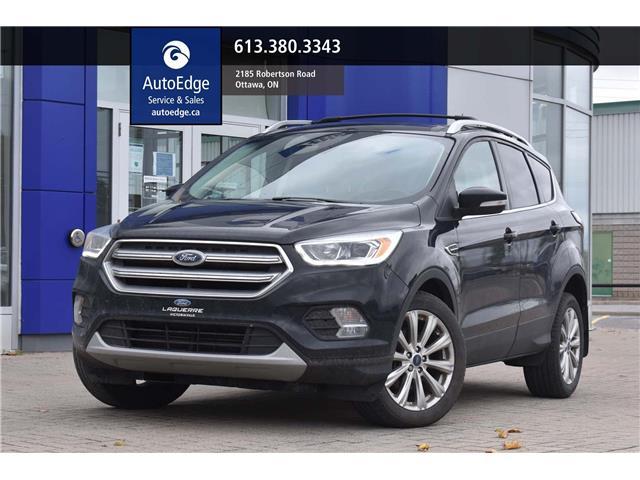 2017 Ford Escape Titanium (Stk: A0349) in Ottawa - Image 1 of 24