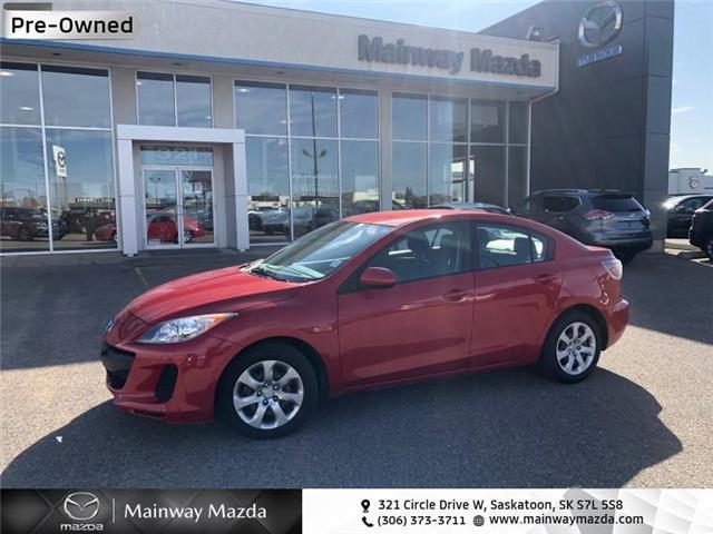 2013 Mazda Mazda3 GX (Stk: M20085A) in Saskatoon - Image 1 of 12