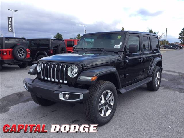 2020 Jeep Wrangler Unlimited Sahara (Stk: L00550) in Kanata - Image 1 of 23