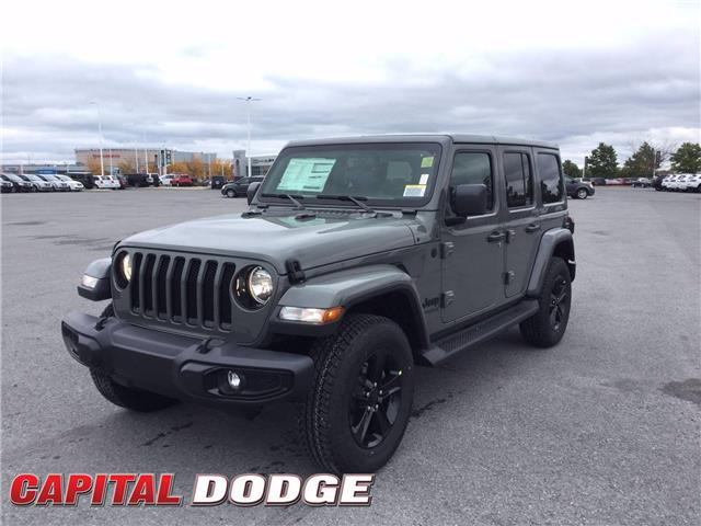 2021 Jeep Wrangler Unlimited Sahara (Stk: M00032) in Kanata - Image 1 of 21