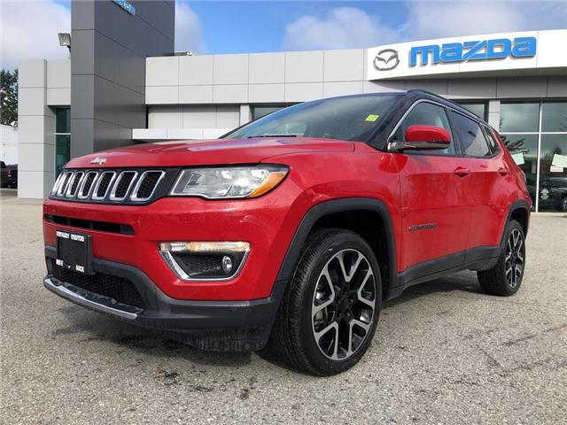 2019 Jeep Compass Limited (Stk: P4343) in Surrey - Image 1 of 15