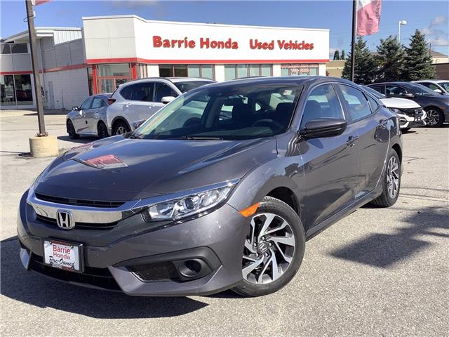 2017 Honda Civic EX (Stk: U17866) in Barrie - Image 1 of 26