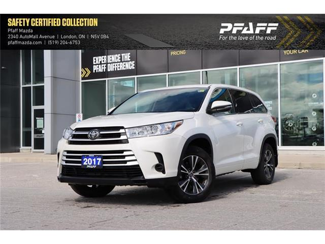 2017 Toyota Highlander LE (Stk: MA1961A) in London - Image 1 of 22