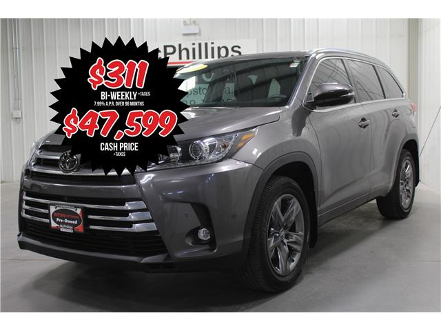 2019 Toyota Highlander Limited (Stk: A14058) in Winnipeg - Image 1 of 28