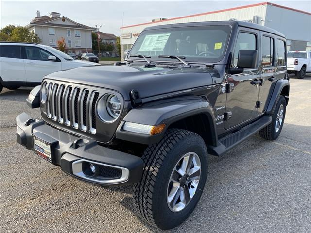 2021 Jeep Wrangler Unlimited Sahara (Stk: 21-024) in Ingersoll - Image 1 of 19