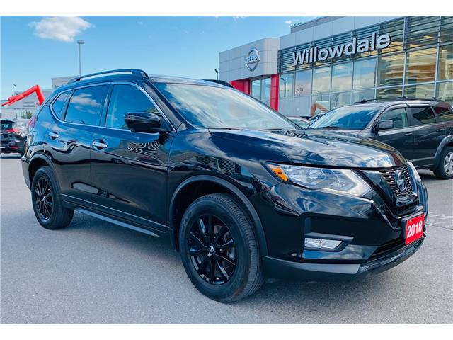 2018 Nissan Rogue Midnight Edition (Stk: C35615) in Thornhill - Image 1 of 20
