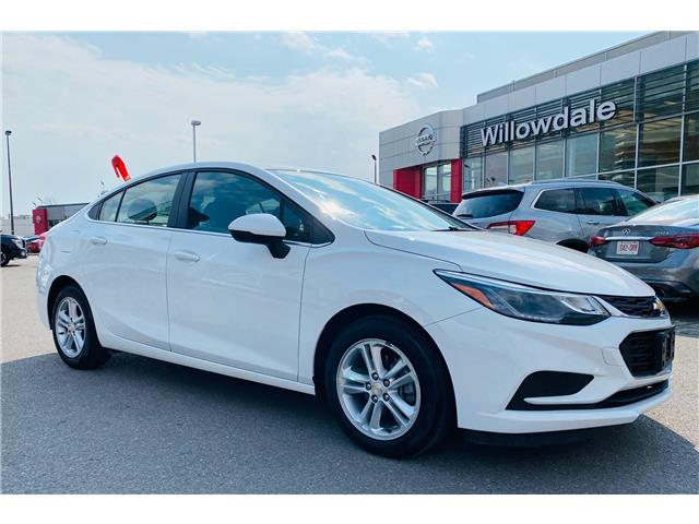 2017 Chevrolet Cruze LT Auto (Stk: N1100A) in Thornhill - Image 1 of 18