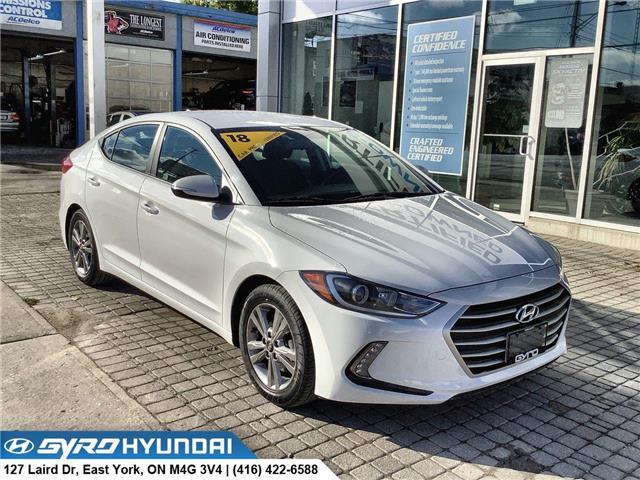 2018 Hyundai Elantra GL (Stk: H6087) in Toronto - Image 1 of 28