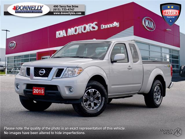 2015 Nissan Frontier PRO-4X (Stk: KV106A) in Ottawa - Image 1 of 24