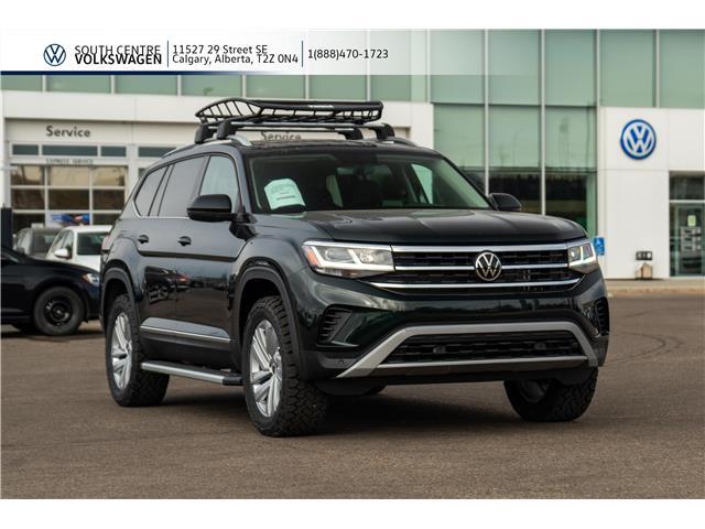 2021 Volkswagen Atlas 3.6 FSI Highline (Stk: 10021) in Calgary - Image 1 of 50