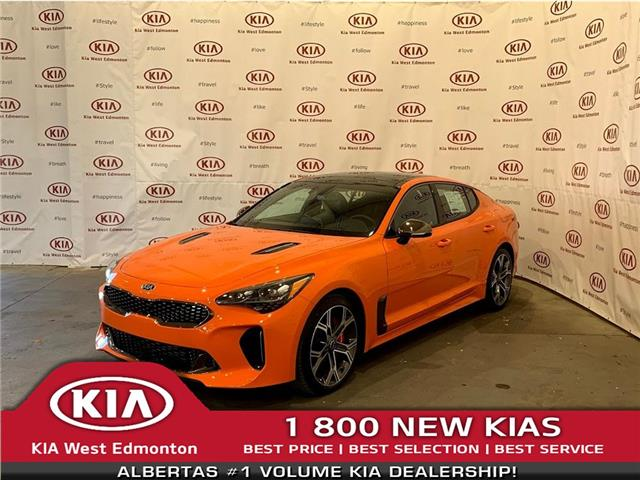 2021 Kia Stinger GT Limited - Neon Orange (Stk: 22593) in Edmonton - Image 1 of 33