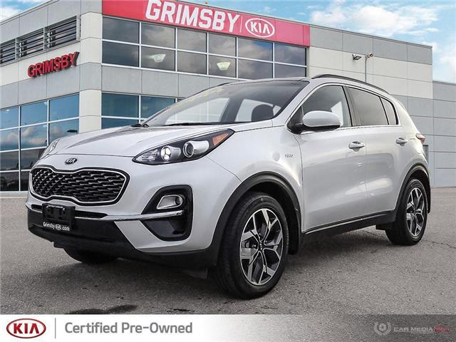 2020 Kia Sportage EX   AWD   Backup Cam   Apple + Android CarPlay (Stk: U1772) in Stoney Creek - Image 1 of 25