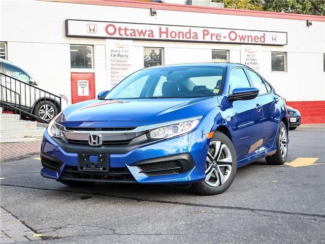 2017 Honda Civic LX (Stk: H85900) in Ottawa - Image 1 of 25
