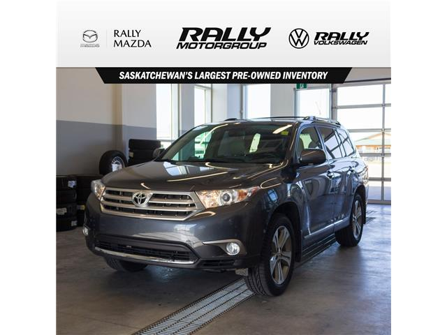2012 Toyota Highlander  (Stk: V1317) in Prince Albert - Image 1 of 13