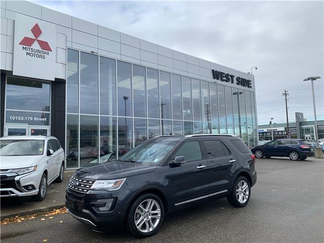 2017 Ford Explorer Limited (Stk: BM3929A) in Edmonton - Image 1 of 27