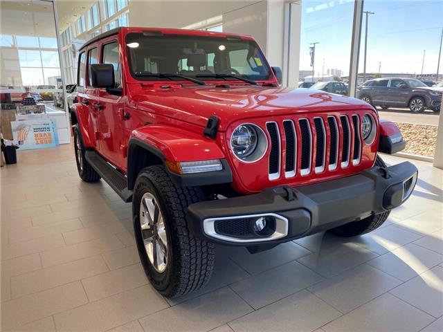 2019 Jeep Wrangler Unlimited Sahara 1C4HJXEN2KW686104 70063A in Saskatoon
